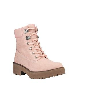 TimberlandCarnaby CoolLeather Boots Light Pink